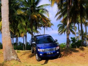 Medan off road ringan di kawasan pantai Batu Karas