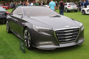 HCD-14 Genesis concept saat tampil di Pebble Beach Concours d'Elegance 2013