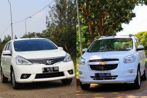 Test Drive Chevrolet Spin & Nissan Grand Livina