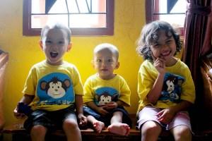 3 monyetku