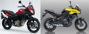 Keduanya sama - sama mengusung konsep turing dan berkapasitas mesin 650 cc.