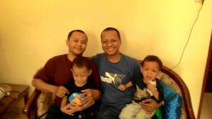 Hidayat Salam a.k.a Cokel, sahabatku yang kini menjadi uztad di Bali.