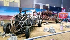 Ada replika mobil Mad Max: Fury Road. Bisa buat foto selfie.