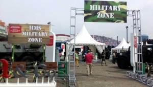 Wahana Military Zone: Mengajarkan jiwa nasionalisma dan patriotisme pada anak-anak Anda.