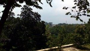 Kubah Masjid nan jauh di sana, jalan kampung menuju perum Graha Kartika.