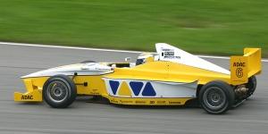 Nico Rosberg saat juara dunia GP2 tahun 2005.