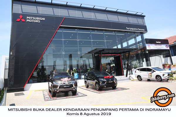 Mitsubishi Buka Dealer Kendaraan Penumpang Pertama Di Indramayu
