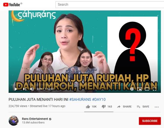 Ngobrolin Terobosan Rans Entertainment Di Bulan Ramadan New
